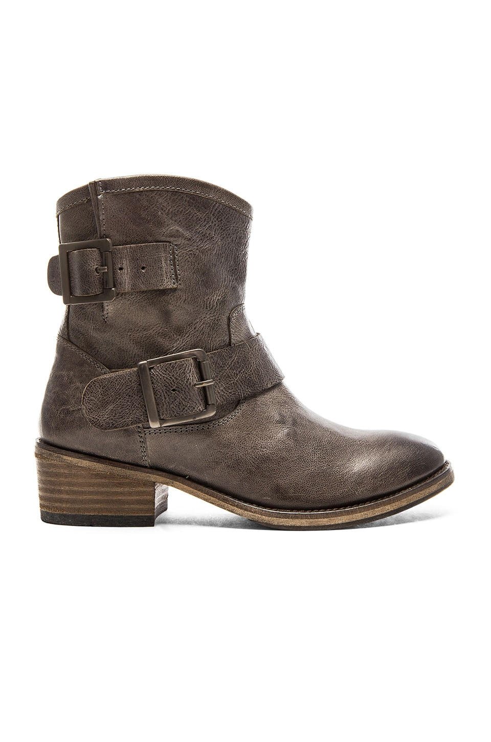 Seychelles Castanets Moto Boot in Grey
