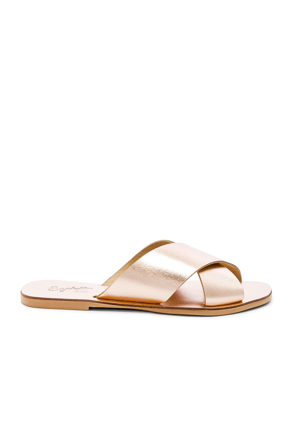 Seychelles Total Relaxation Sandal in Rose Gold