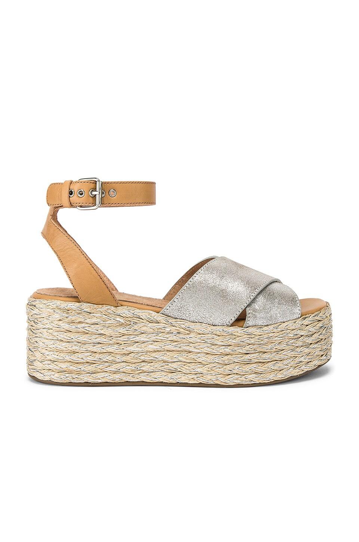 Seychelles Much Publicized Sandal in Silver Metallic