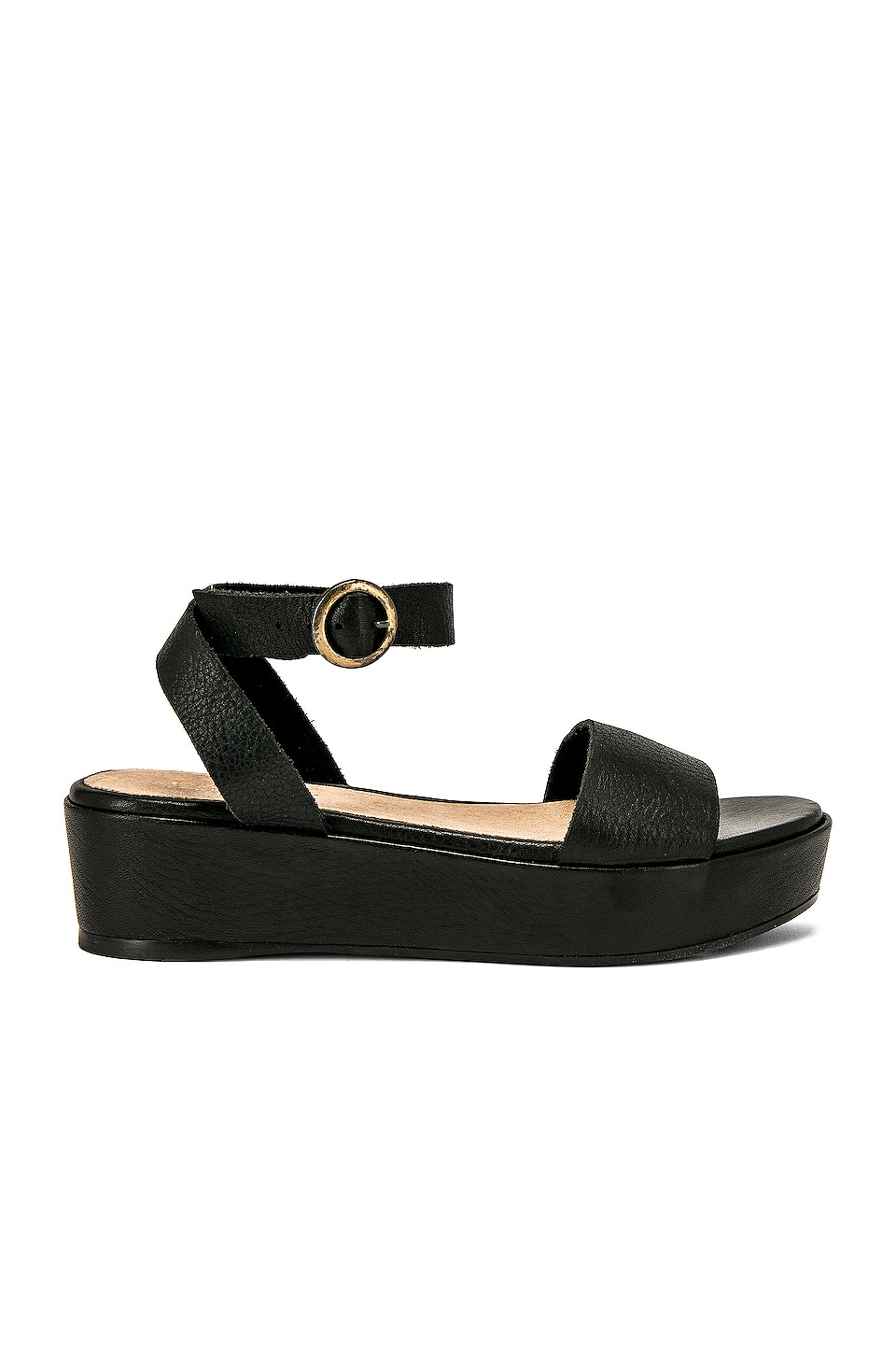 Seychelles Monogram Flatform in Black