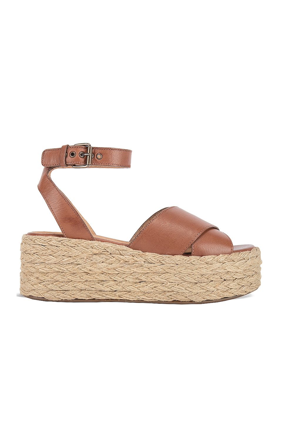 Seychelles Much Publicized Sandal in Tan