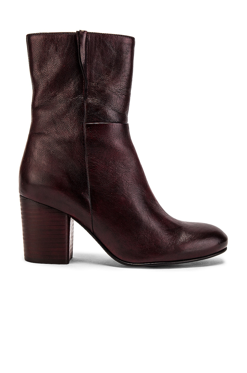 Seychelles Wild Ride Boot in Burgundy Leather
