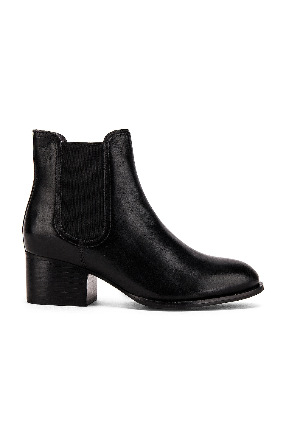 Seychelles In A Trance Bootie in Black Leather