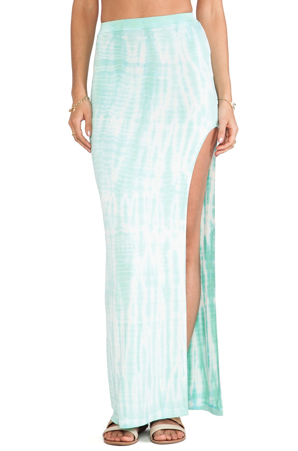 Stone Fox Swim Breeze Skirt in Salt