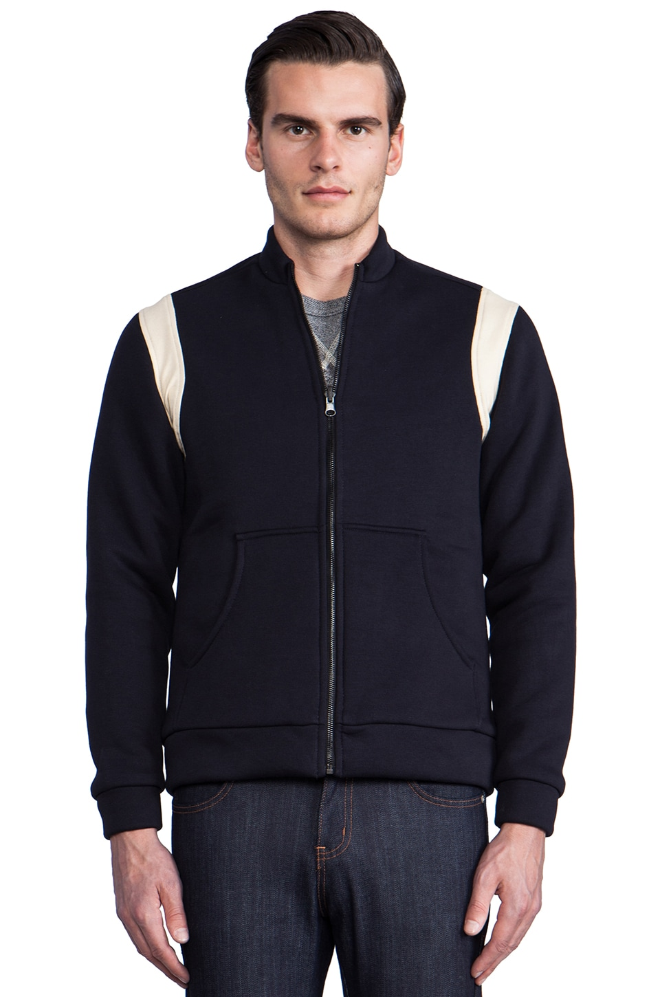Still Good Caravage Jacket in Navy