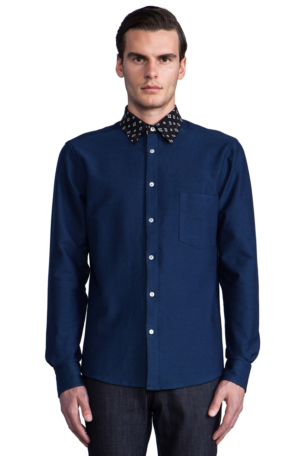 Still Good Rivoli Shirt in Indigo