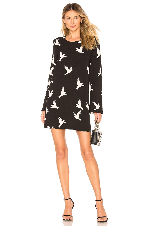 Stine Goya Atwood Dress in Doves Black