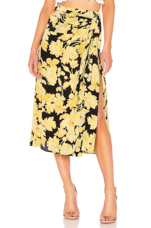 Stine Goya Lilly Silk Skirt in Hortensia Dark