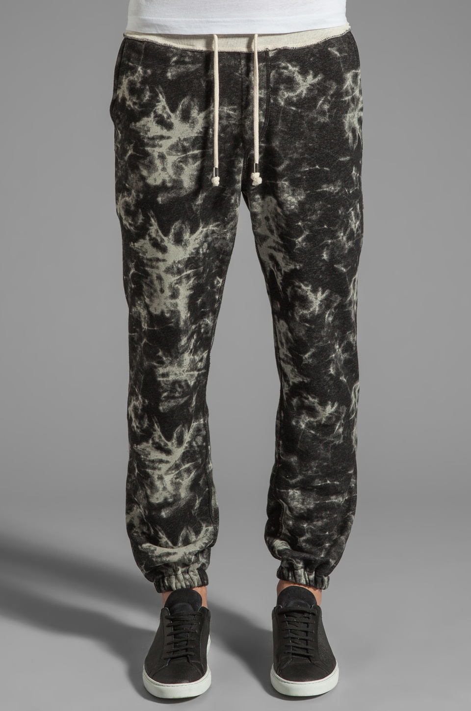 Shades of Grey by Micah Cohen Casual Sweatpant in Blackwater Tie-Dye