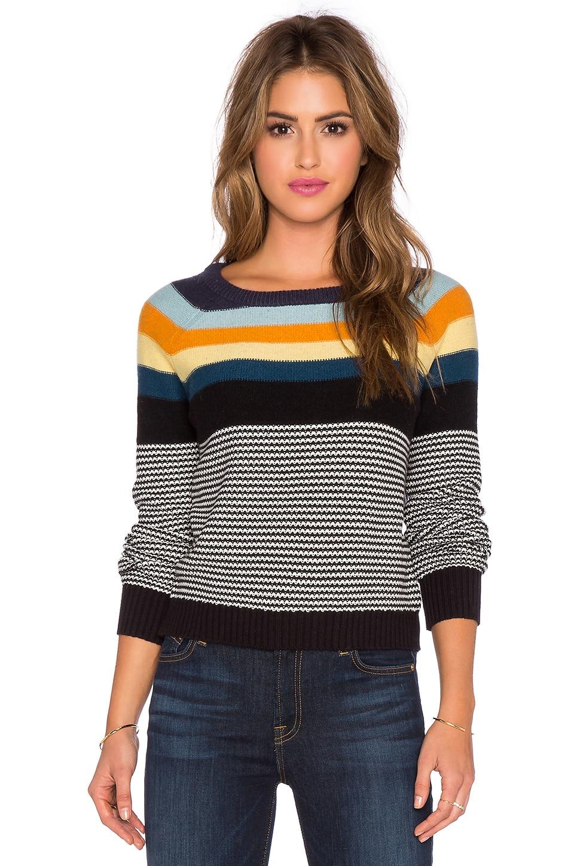 SHAE Sloan Sweater in Multi Combo