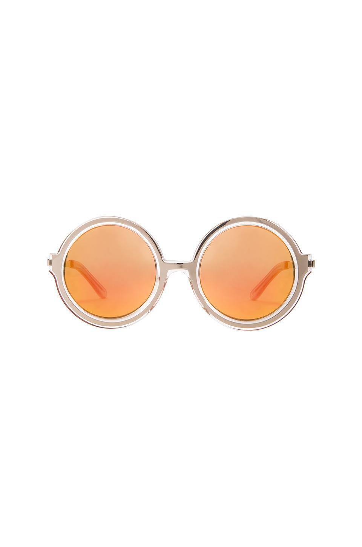 Shakuhachi x REVOLVE Moon Shine Sunglasses in Lilac & Silver