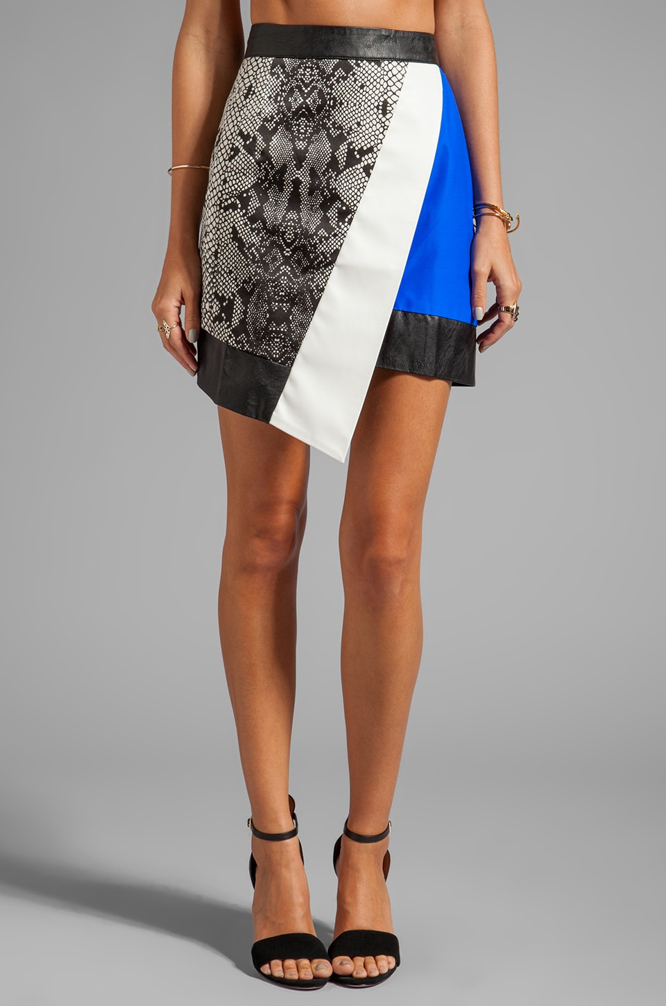 Shakuhachi Envelope Skirt in Serpent