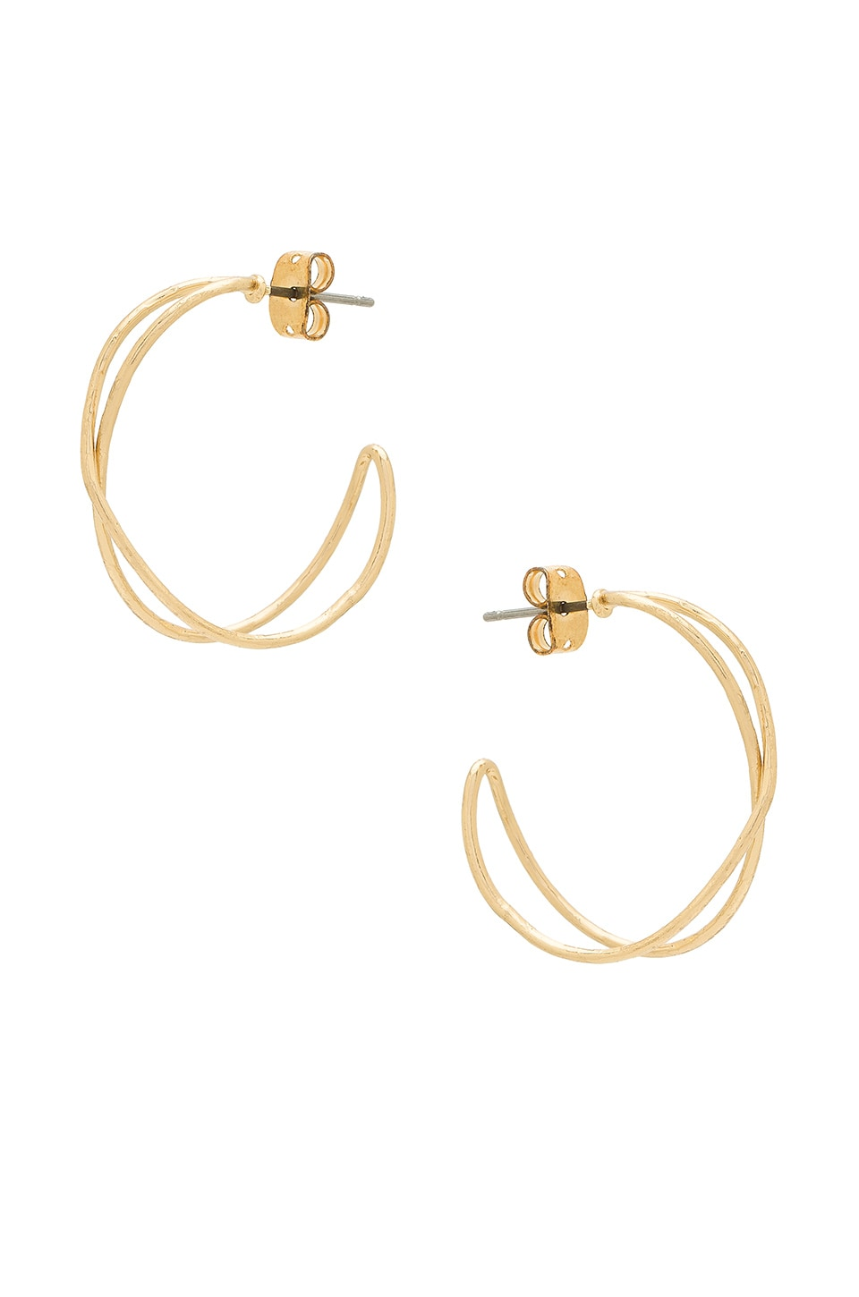 SHASHI Lindsey Earrings in Gold