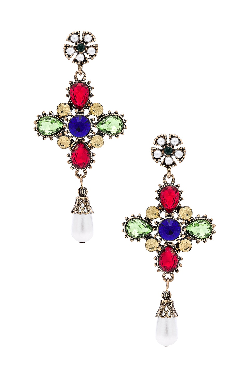 SHASHI Gloria Earrings in Multi