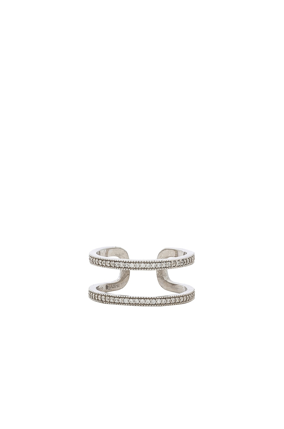 SHASHI Kaylee Ring in Silver