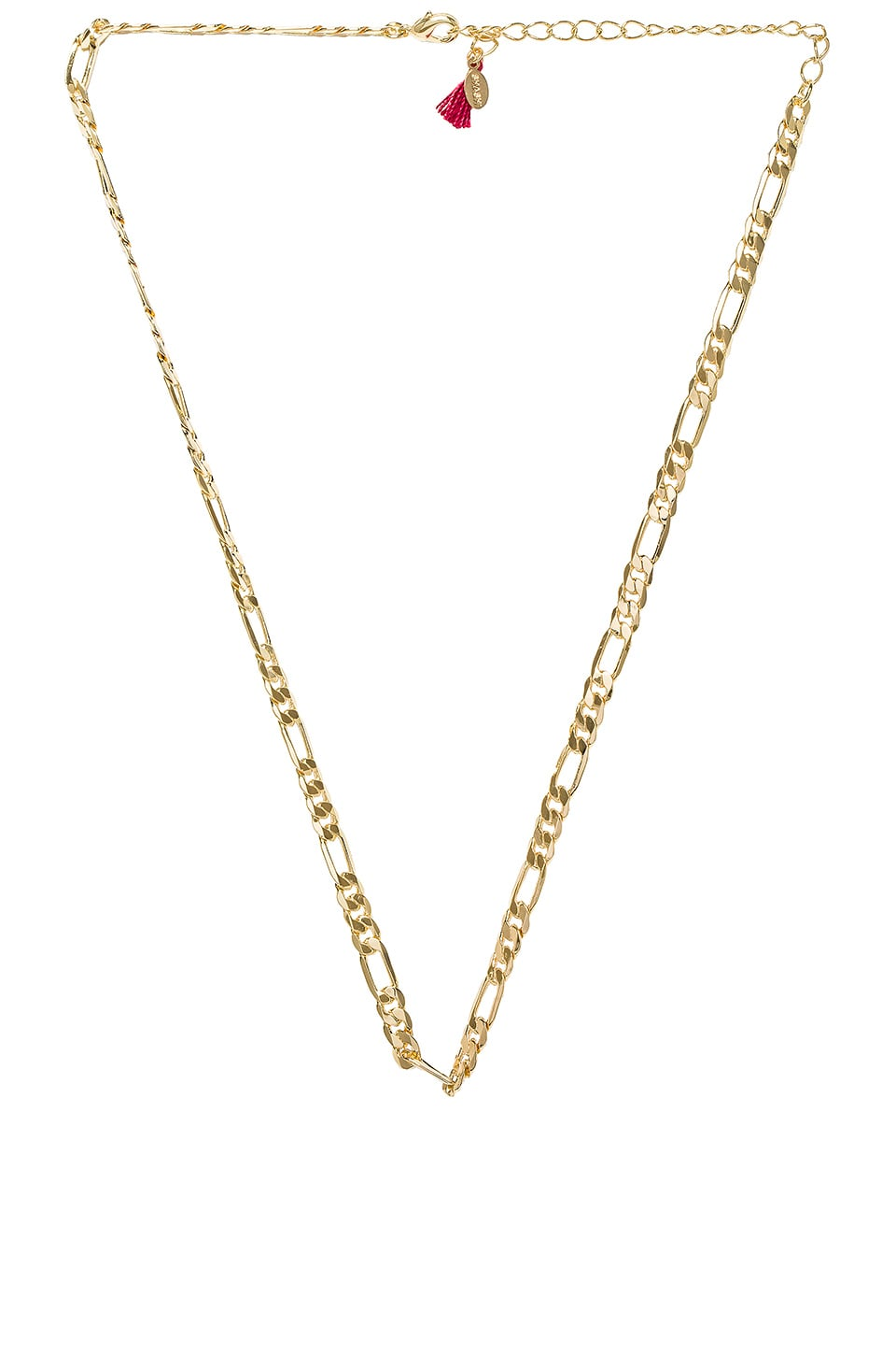 SHASHI Gina Necklace in Yellow Gold