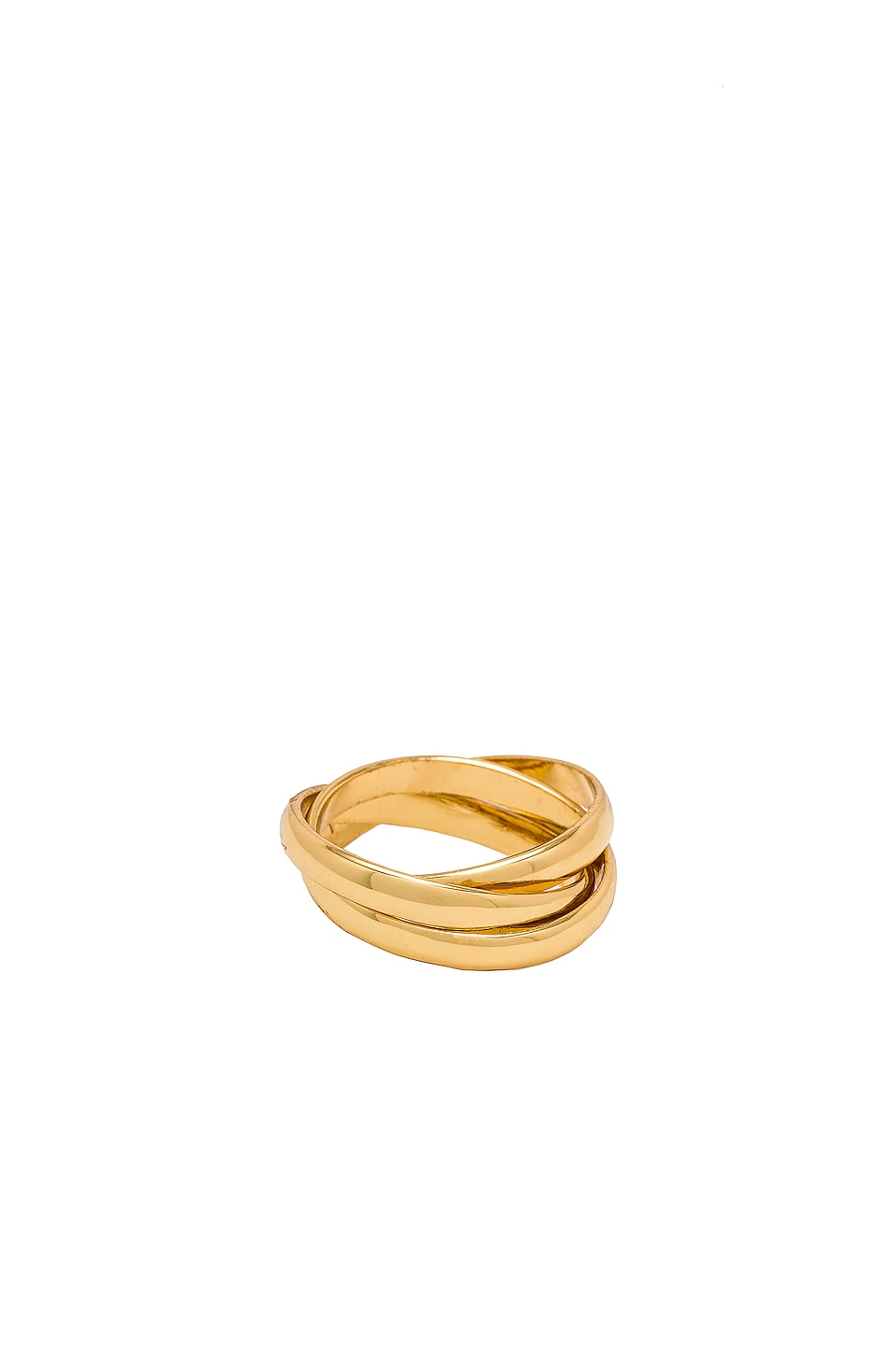 SHASHI Leah Ring in Gold