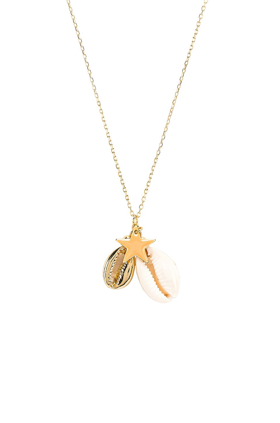 SHASHI Carmella Necklace in Gold