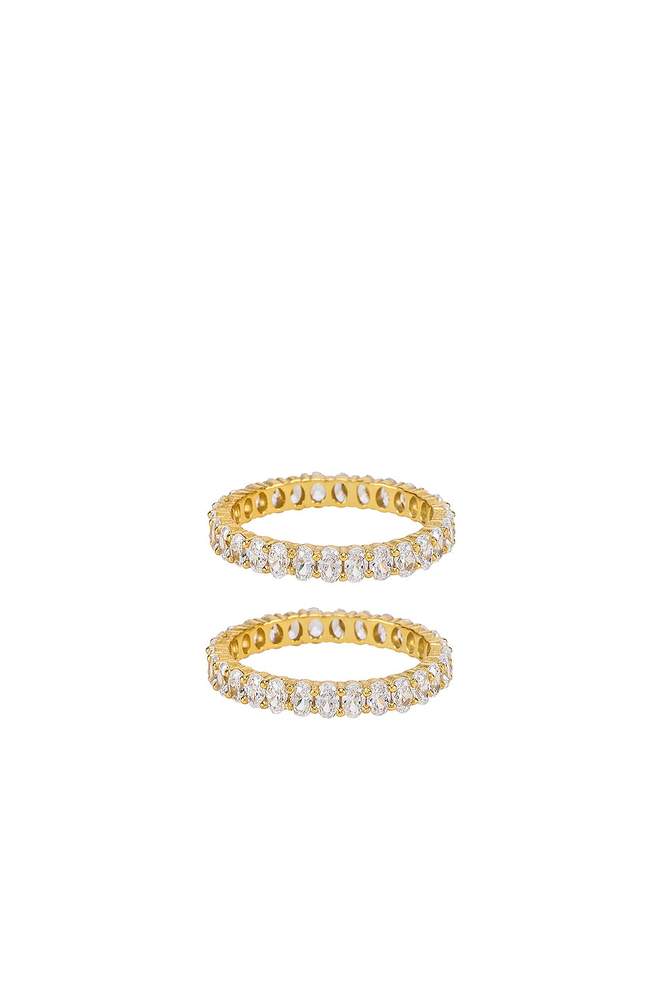 SHASHI Marry Me Ring Set in Gold