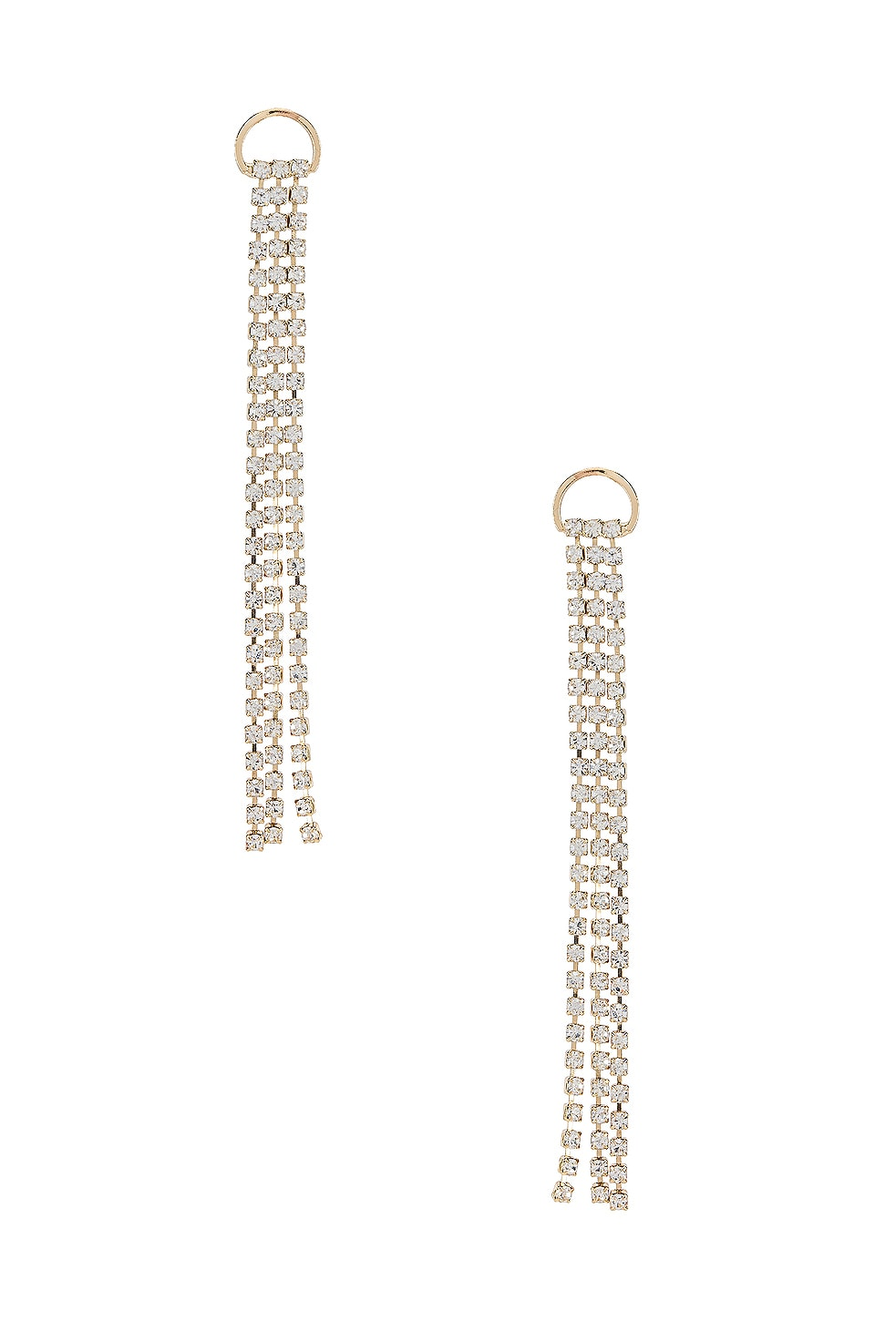 SHASHI Sparkle Drop Earring in Gold