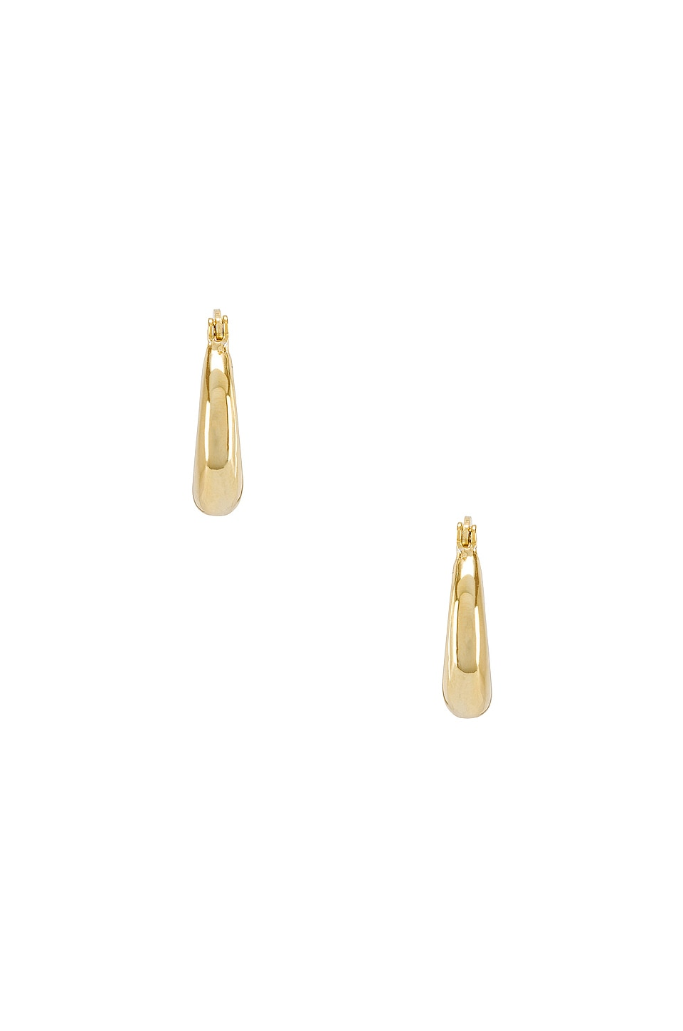 SHASHI Baby Dominique Hoop Earrings in Gold