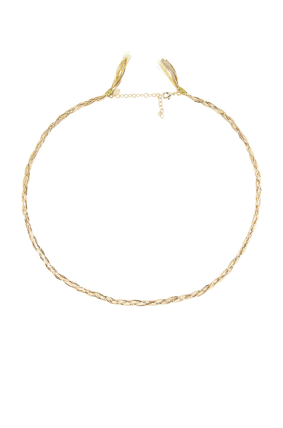 SHASHI Sasha Chain Necklace in Gold
