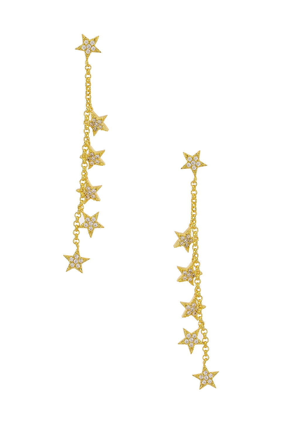 SHASHI Celestial Drop Earrings in Gold
