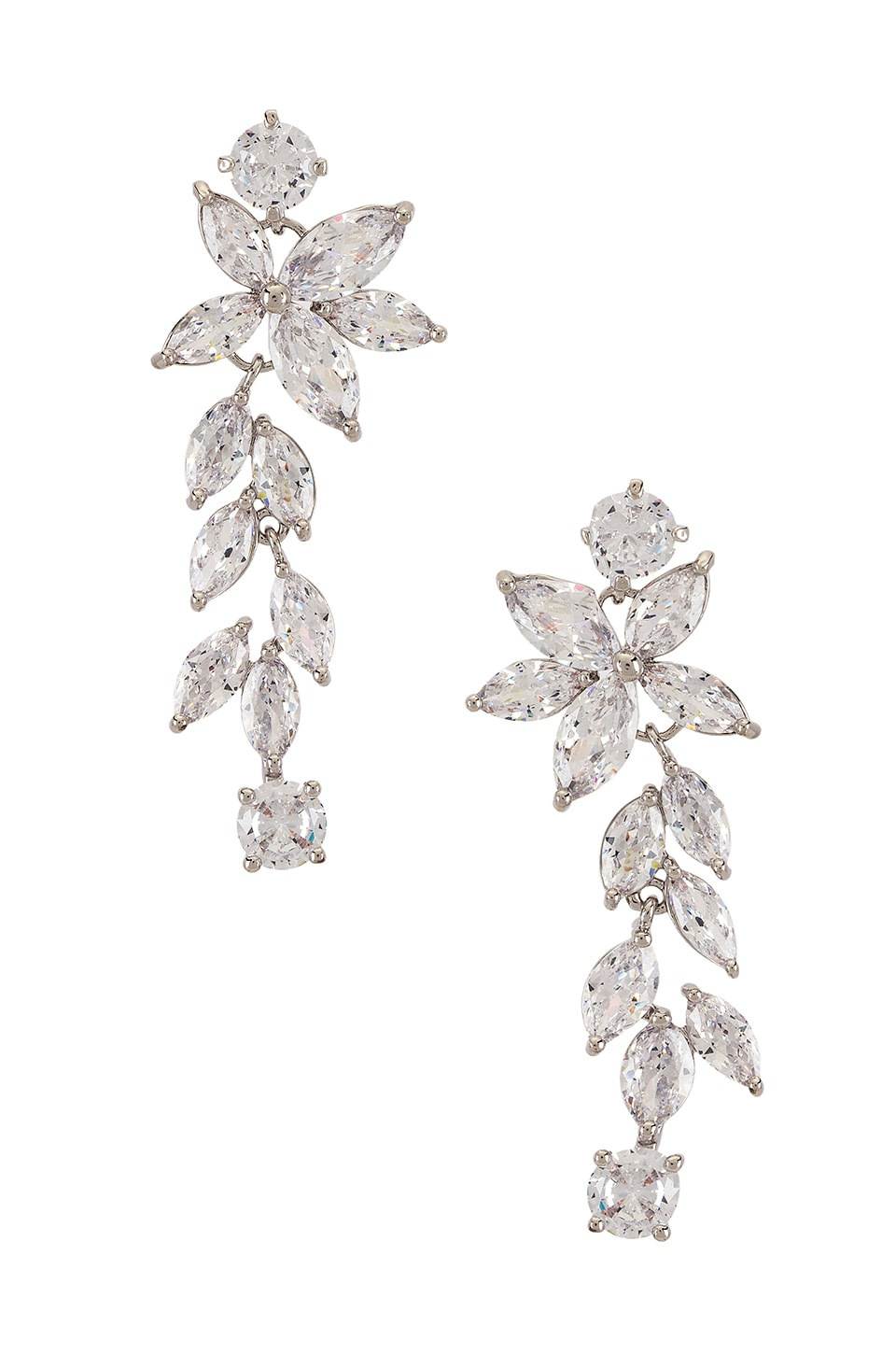 SHASHI Pure Earring in Silver