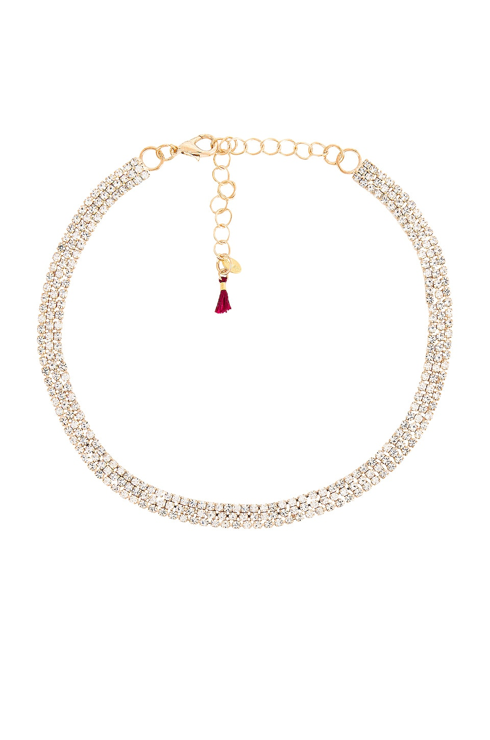 SHASHI After Dark Necklace in Gold
