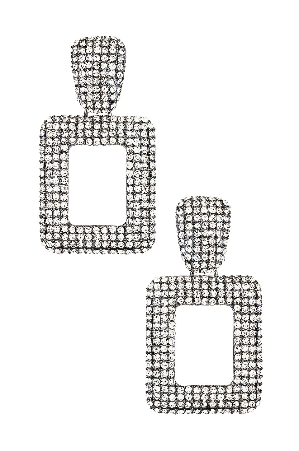 SHASHI Retro Grade Earring in Silver
