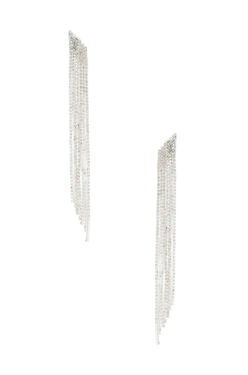 SHASHI Ultra Violet Earring in Silver