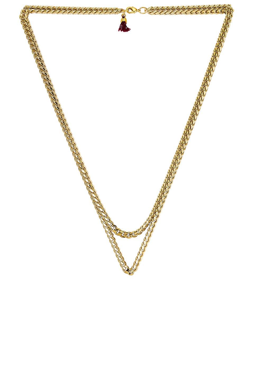 SHASHI Maui Layered Necklace in Gold