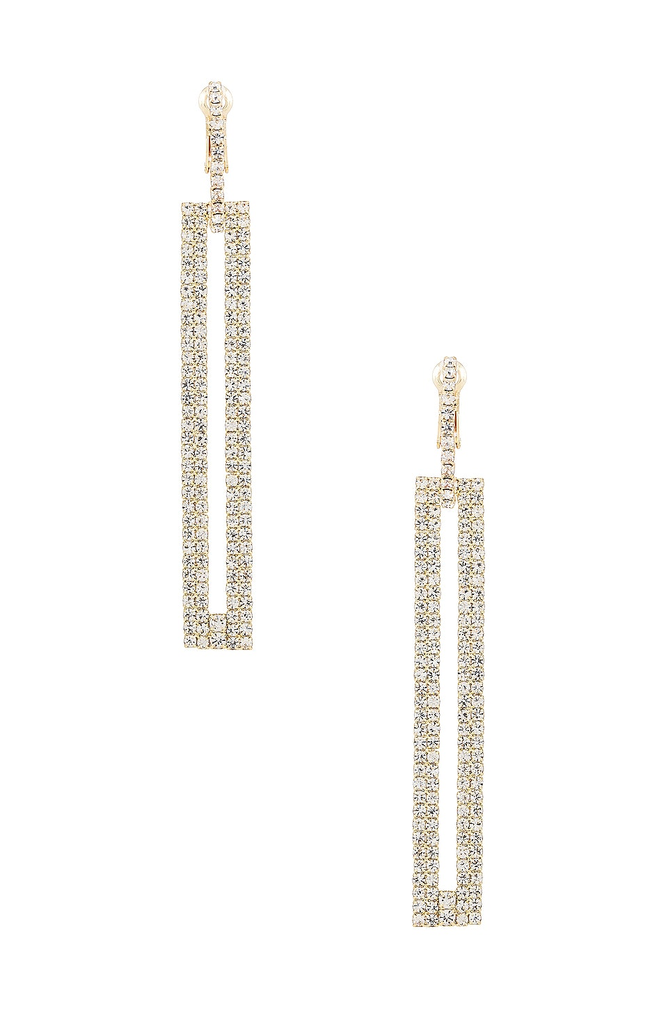 SHASHI Courage Earring in Gold
