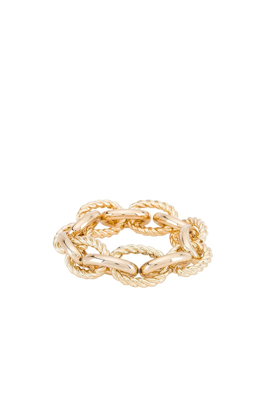 SHASHI Mercury Bracelet in Gold