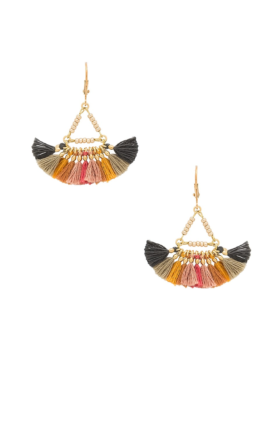SHASHI Lilu Earrings in Harvest