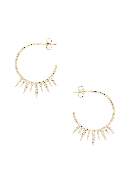 Arushi Hoop Earrings by SHASHI