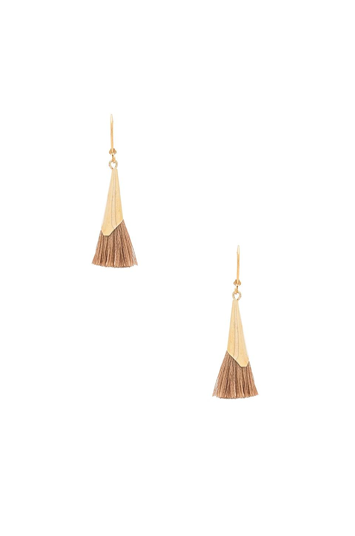 SHASHI Jill Cone Earring in Nude