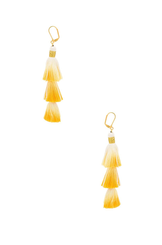 SHASHI Sia Earring in Mustard