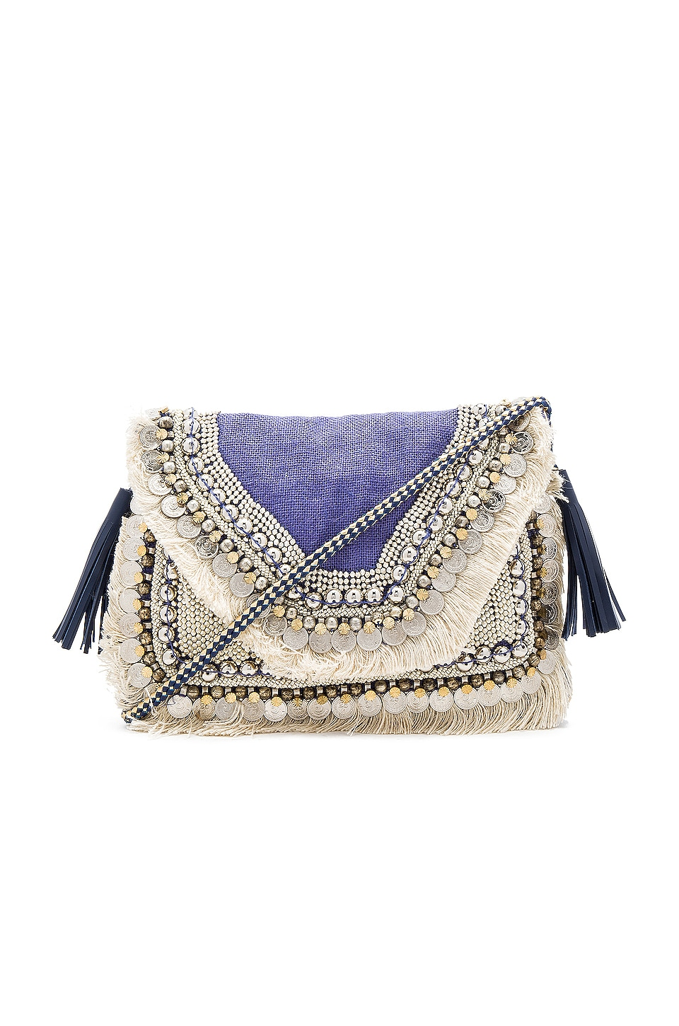 SHASHI Leela Clutch in Lilac