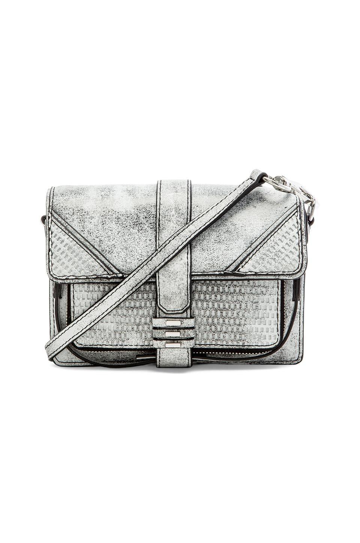 she + lo Silver Lining Camera Bag in Black & White