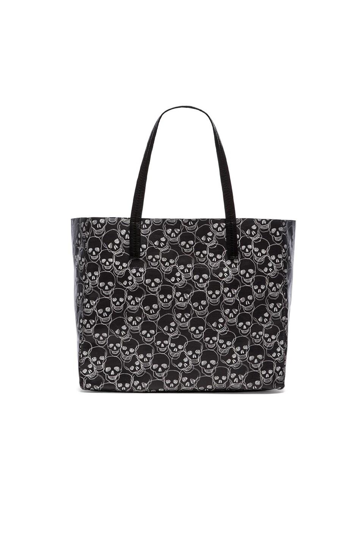 she + lo Onward Tote Bag in Black & Tan