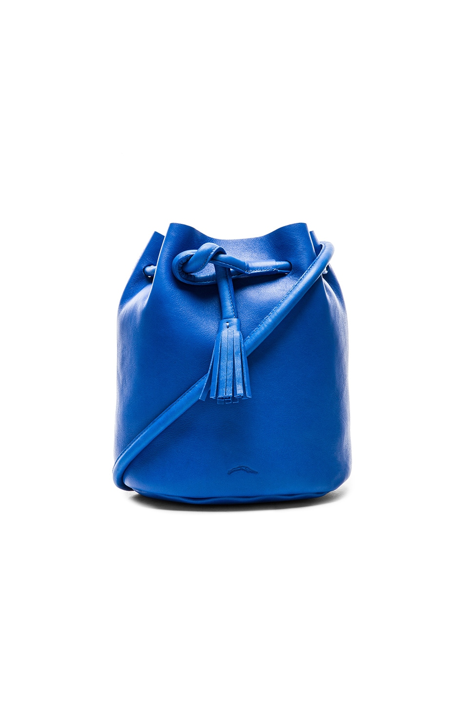 Shaffer The Dana Bucket Bag in Cobalt