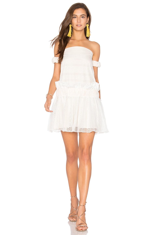 Moliere Off The Shoulder Mini Dress by Shona Joy