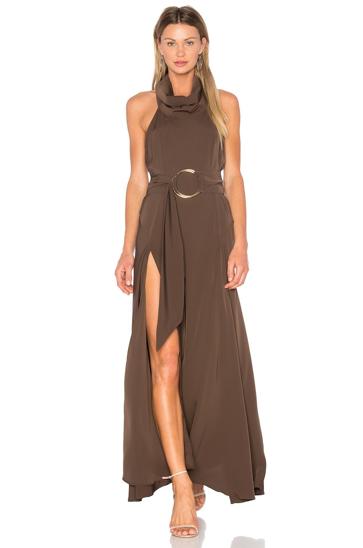 Zelda Funnel Neck Maxi Dress by Shona Joy