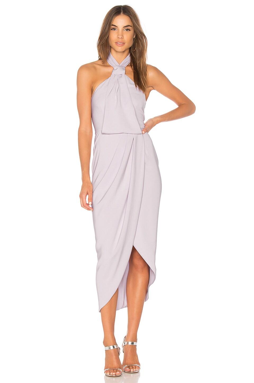 Knot Draped Dress in Burgundy. - size Aus 10/US 6 (also in Aus 12/US 8,Aus 6/US 2,Aus 8/US 4) Shona Joy