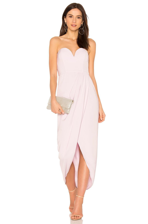 Shona Joy U Wire Bustier Dress in Lilac