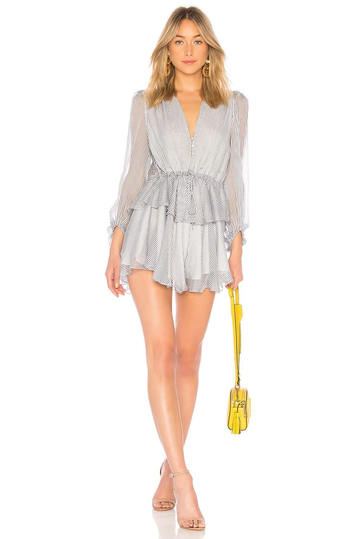 Seberg Puff Sleeve Mini Dress