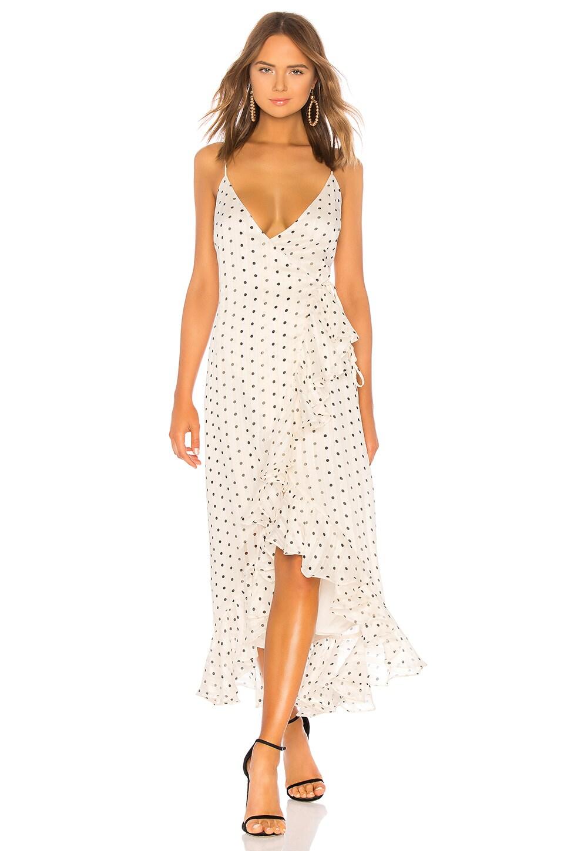 SHONA JOY KARINA COCKTAIL WRAP DRESS