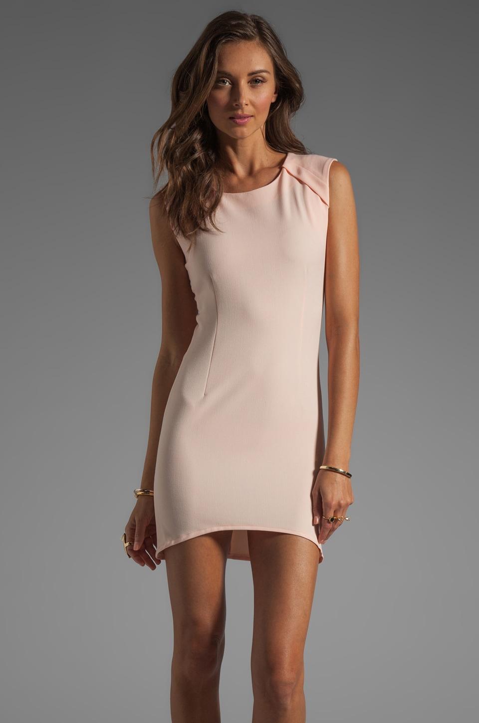 Shona Joy Right of Passage Body Con Dress in Ballet