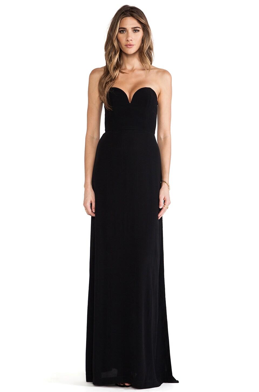 Shona Joy Midnight Meeting Maxi Dress in Black